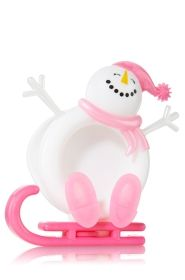 Pink Snowman Sled Scentportable - Bath & Body Works