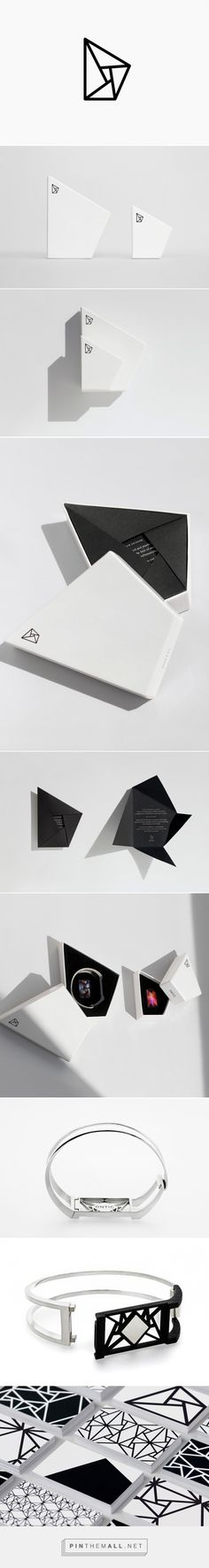 Ontic Jewelry packaging designed by Cindy Forster - http://www.packagingoftheworld.com/2015/09/ontic.html