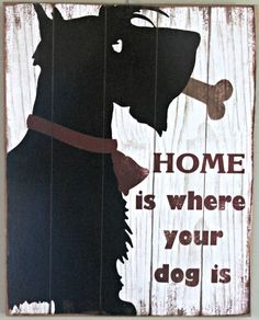SCOTTISH TERRIER DOG decor collectable home accent hanging large scottie sign