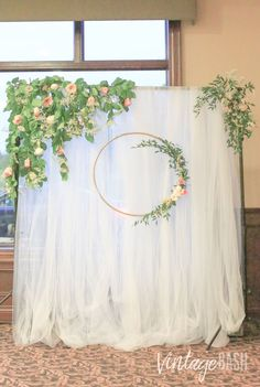 Greenery Wedding Backdrop Inspiration - click the photo for more details!