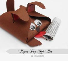 Materiales gráficos Gaby: Cajas de regalo personalizadas con plantilla