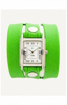 LA MER COLLECTIONS SIMPLE WRAP NEON WATCH