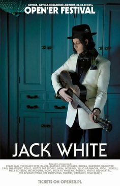 First Non-US Jack White Show Announced For Open'er 2014