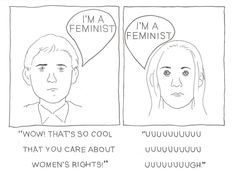 we need feminism because...