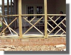 Fancy Deck Railing, Chippendale Pattern (DIY instructions)