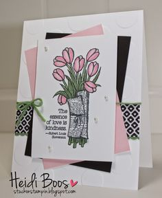 Stuck on Stampin': Friday Favorites - Love is Kindness (Heidi Boos, Stampin' Up!)
