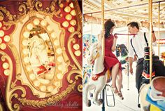 it's official. i want my engagement session at a carnival/fair. so awesome.