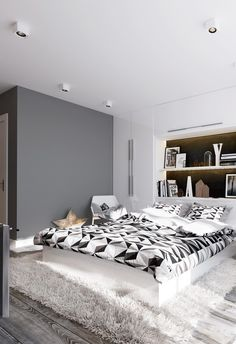 Trying to decide between texture and artwork as the main emphasis in your next bedroom redesign? You don't have to sacrifice one just to enjoy the other! The si
