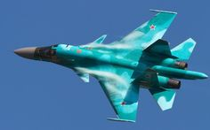 Su-34 bomber military air force fighter jets weapon russia