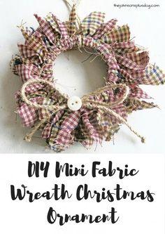 25 Mason Jar Christmas Ornaments