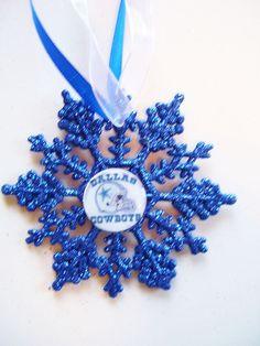 Dallas Cowboys Christmas Tree Topper by Jewlsbasement on Etsy ...