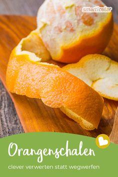 Orangenschalen verwerten: Tipps für Haushalt, Körperpflege & Co. Snack Recipes, Snacks, Just Do It, Sweet Potato, Diy And Crafts, Life Hacks, Chips, Vegetables, Anstatt