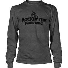 Rockin the Mountains Mountainbike T-Shirt #gift #ideas #Popular #Everything #Videos #Shop #Animals #pets #Architecture #Art #Cars #motorcycles #Celebrities #DIY #crafts #Design #Education #Entertainment #Food #drink #Gardening #Geek #Hair #beauty #Health #fitness #History #Holidays #events #Home decor #Humor #Illustrations #posters #Kids #parenting #Men #Outdoors #Photography #Products #Quotes #Science #nature #Sports #Tattoos #Technology #Travel #Weddings #Women
