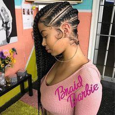 @braid.barbie My Specialty : Braid Barbie Pink Lemonade Braids #protectivestyles #naturalhair