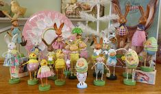 Lori Mitchell Spring & Easter Folk art