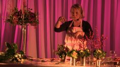 This is the last part of her demonstration at Rowton Hall Hotel nr Chester.  Emma raised £1,000 for charity by hosting a fun filled day.  There were boutique shops, three course lunch, mulled wine and mince pies and of course over an hour of tips and hints for a wonderful flower filled Christmas.