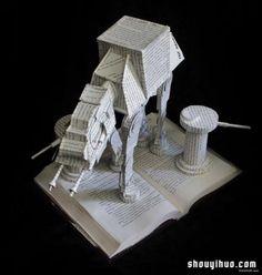 Origami creativo con libros