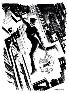 Catwoman by Chris Samnee