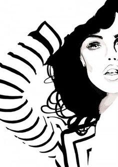 Judith van den Hoek raw graphics, i love this illustration