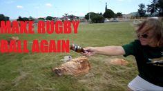 MAKE A RUGBY BALL - Bruzelle DIY