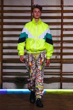 Image - Gosha Rubchinskiy @ Paris Menswear S/S 2016 - SHOWstudio - The Home of Fashion Film Live Fashion, Boy Fashion, Runway Fashion, Fashion Show, Mens Fashion, Fashion Design, Summer Boy, Spring Summer 2016, Gosha Rubchinskiy