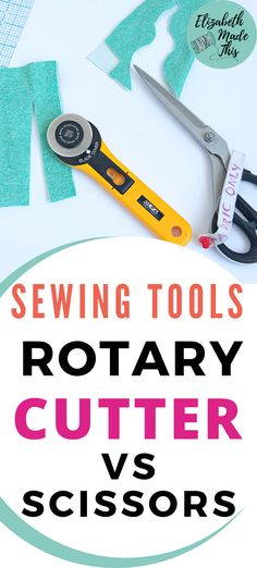 When talking about the best sewing tools, who will win the cuttings wars? Catch a detailed comparison of rotary cutter vs. scissors for sewing tasks. From cutting various fabrics to talking about the strengths of sewing shears and rotary cutters, here's a detailed comparison to help you choose the right tool for the job. #sewingtools #sewing