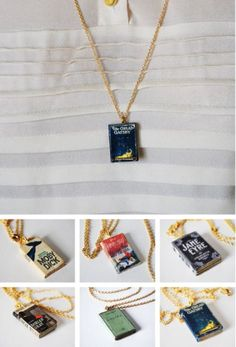 Book Necklace | Must buy