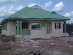Delightful 6 Bedroom Bungalow House Plans In Nigeria - Cost Of Building A Three Bedroom Bungalow In Nigeria Bedrooms Bungalow Style House, 3 Bedroom Bungalow, Three Bedroom House, Bungalow House Plans, Modern House Plans, Bungalow Designs, House Design Pictures, Small House Design, Dream Home Design