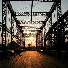 Marchand Bridge Overlook/Greenway Trail Evansville, Indiana