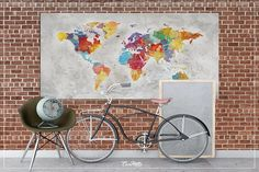 Streszczenie bryzg mapę, duży świat mapa, mapa świata Extra duży, podróży Decor, wyjątkowo duże Wall Art, duże Wall Art, mapa świata streszczenie, dużymi abstrakcjonizm, duży płótnie, duży druk, Wanderlust Travel na ścianę, podróży sztuki Wcisnąć Pin mapa świata, mapa świata Extra duży,