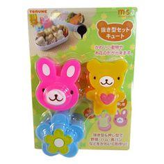 Rabbit /Flower/Bear Sandwich & Bento Food Cutter