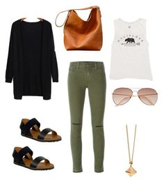"""""""Untitled #59"""" by kerrie-gregory on Polyvore featuring J Brand, Billabong, Miz Mooz, Dinny Hall and H&M"""