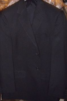 Doc & Amelia Navy Blue Size 40 Reg 2 Button Blazer Jacket New With Tags NWT #DocAmelia #TwoButton
