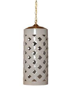 Crisscross Pendant Light by Emissary on Gilt Home