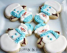 Árbol de Navidad de galletas galletas de Navidad por rollinindough