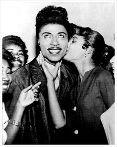 Little Richard, pianist, singer and songwriter. He is  considered key in taking music from R&B  to Rock & Roll in the 1950s.