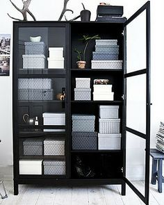 Simple storage for craft room