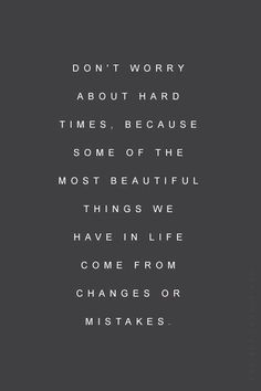 Hard times can bring out the best in you...