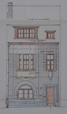 Schaerbeek - Rue Émile Wittmann 7, 9 - Rue Auguste Lambiotte 107-109, 111 - EGGERICKX H.