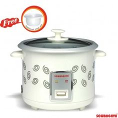 Sowbaghya Annam Electric Rice Cooker 1.8L With Free Inner Pot