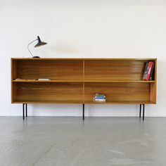 Architekten Regal 60er | Modernist Sideboard Display Shelf by Eiermann-Student