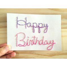 お洒落度UP☆メッセージカードにもおすすめの簡単な紙刺繍のやり方☆ - curet [キュレット] まとめ