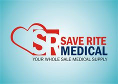 corporate logo for Save Rite Medical by campusano