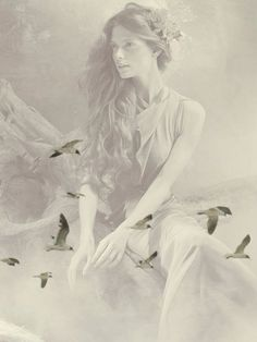 Learn To Fly, Ethereal Beauty, Ol Days, Portrait Inspiration, Double Exposure, Ciel, Belle Photo, Fairy Tales, How Are You Feeling
