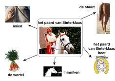 woordenschat paard van sint Christmas Arts And Crafts, Jolly Holiday, School, Cities, Children