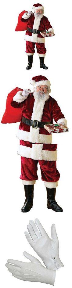 Men 52762  Rubie S Regency Plush Christmas Santa Claus Suit Adult Mens  Costume, X 01eadf15cf5b