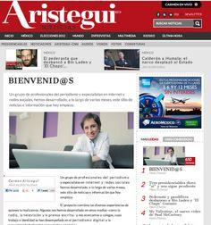 Llegó el día de Aristegui Noticias, la apuesta digital de la prestigiosa periodistas mexicana Carmen Aristegui, quien hace unos días debutó en Twitter para anunciar la noticia.