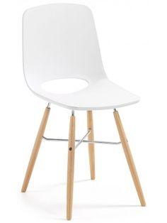 Raffinato gusto nordico per questa favolosa sedia, robusta e resistente, con una linea fresca e innovativa che porterà una ventata di nuovo nel vostro ambiente. Si adatta perfettamente agli ambienti moderni, ideale per l'utilizzo in cucina e soggiorno