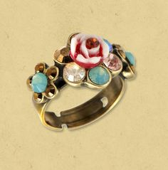 Michal Negrin VINTAGE RING - 8330  adore this~~
