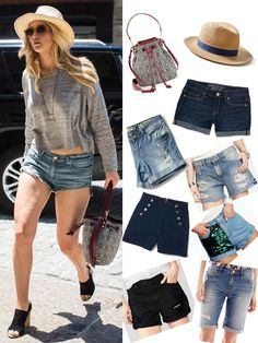 Jennifer Lawrence looked like a model off duty as she turned the streets of NYC into her very own runway with her covetable, cool take on denim shorts. Want to take the casual summer staple and instantly glam it up like JLaw? Well, that's easy! SHOP our picks right here if you want to transform the trend.